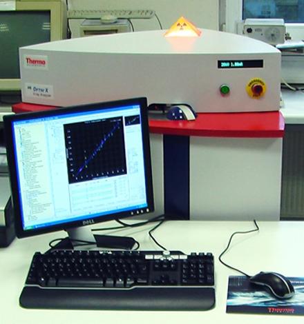 Röntgenfluoreszenz Analytik