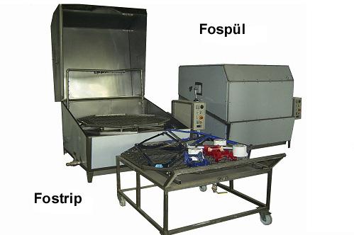 Foster Spritz- und Spülmodul, Spritzanlagen, Spritzanlage
