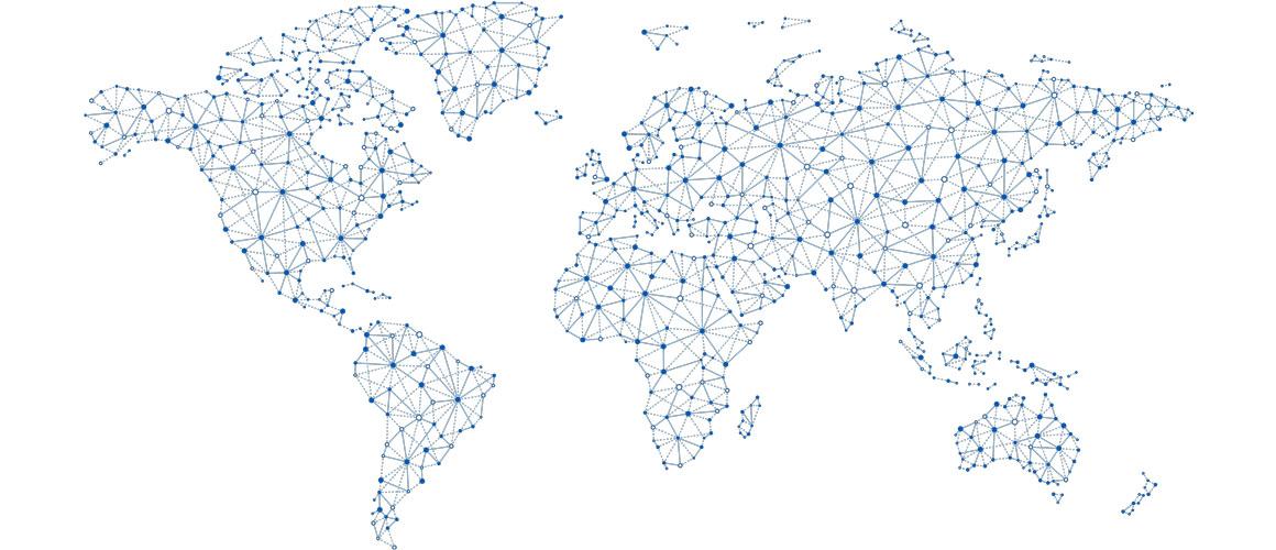 Weltweiter Vertrieb