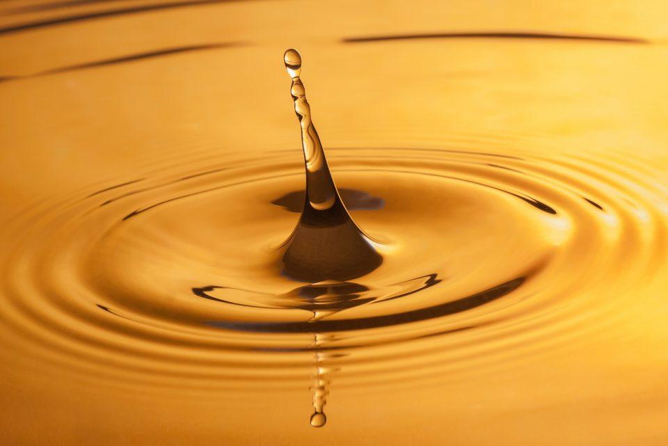 Öltropfen, Walzöle