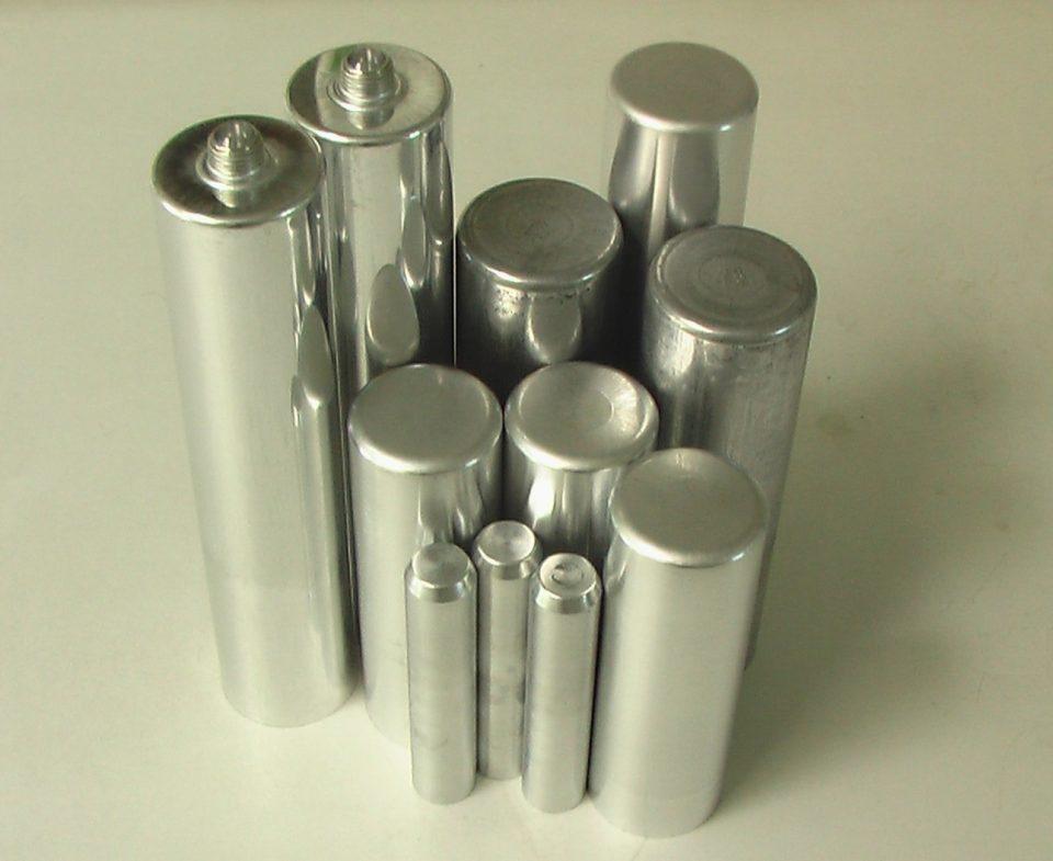gereinigte Aluminiumdosen
