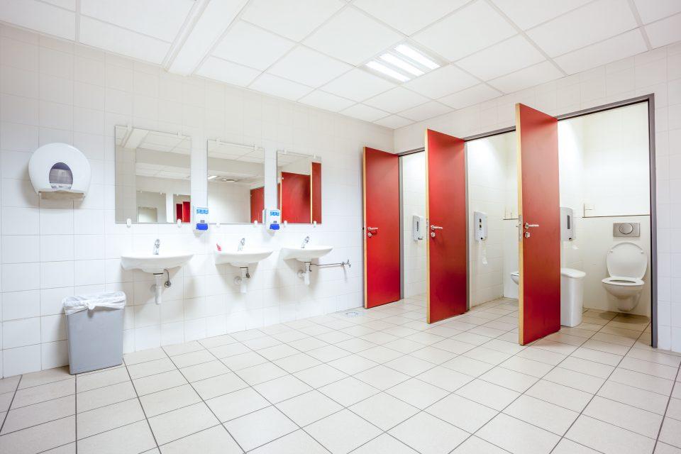 Sanitärreinigung, Bad putzen, Toilette putzen, WC, Waschbecken